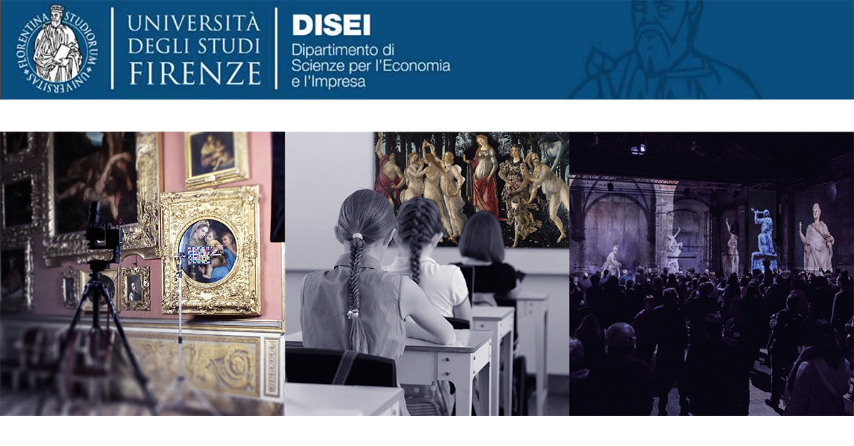 """Postgraduate Master Course in """"Economics and Management of Museum Assets and Cultural"""""""