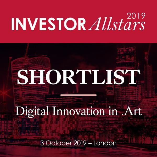 Investor AllStar 2019 Digital Innovations in Art