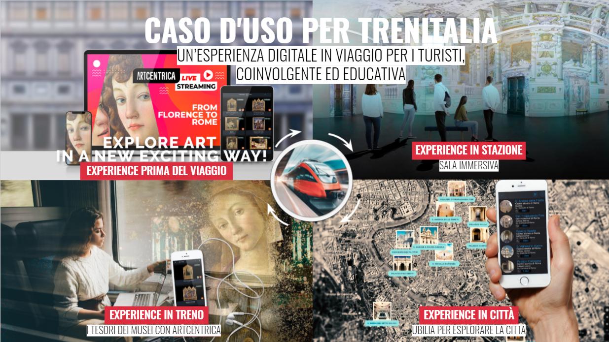 VirtuItaly wins Train Digital Tourism Experience – FS Innova by Trenitalia